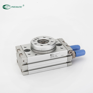 MSQ 10mm Table Diam Compact Rotary Actuator type Pneumatic Cylinder